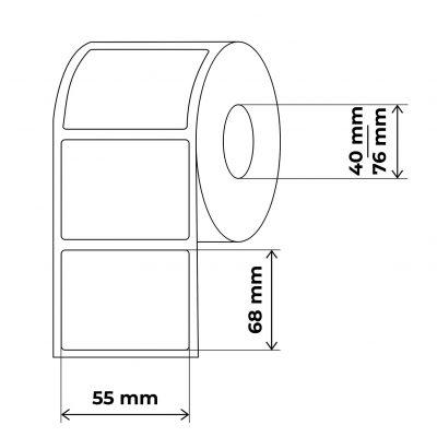 propakas lipnių etikečių maketas 55x68